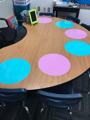 dry erase dots -items for the classroom